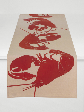 Dermond Peterson Lobster Table Runner