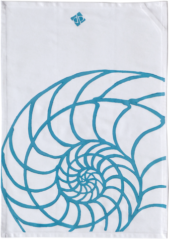 Dermond Peterson Nautilus Kitchen Towel