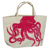 Dermond Peterson Octopus Big Bag in Fuchsia