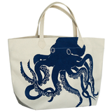 Dermond Peterson Octopus Big Bag in Navy