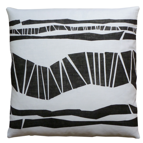 Dermond Peterson Randig Pillow Black