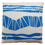 Dermond Peterson Randig Pillow Blue