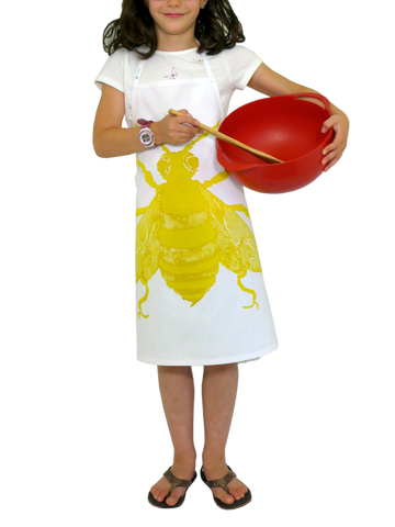 Dermond Peterson Bee Little Chef's Apron