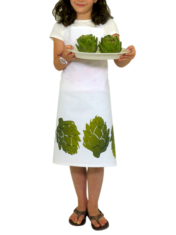 Dermond Peterson Little Chef's Apron in Artichoke