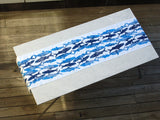 Dermond Peterson Sardine Table Runner Indigo