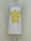 Dermond Peterson Sköldpadda Little Chef's Apron in Yellow