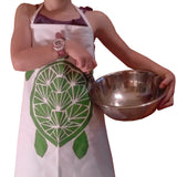 Dermond Peterson Little Chef's Apron in Green Turtle