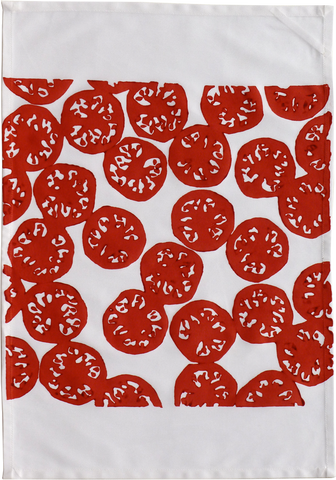 Dermond Peterson Tomato Kitchen Towel
