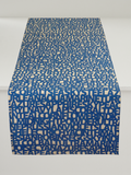 Dermond Peterson Words for Blue Table Runner
