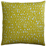 Dermond Peterson Words for Yellow Pillow