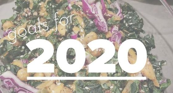 In 2020, I'm going to reach my ideal health and weight goals. Here's how.