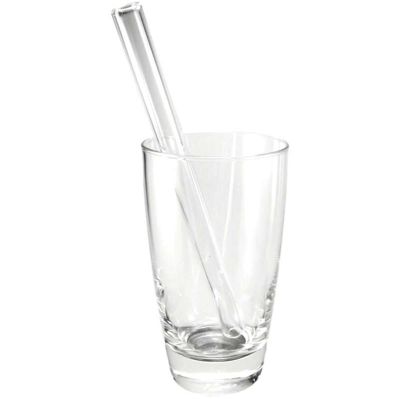 "GlassSipper 8""Glass Smoothie Straw"