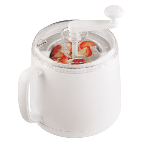 Ice Cream Maker White 1qt Donvier