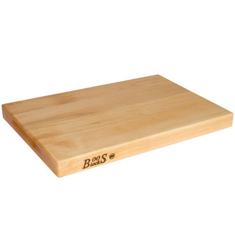 "John Boos 18"" x 12"" with Hand Grips Cutting Board"