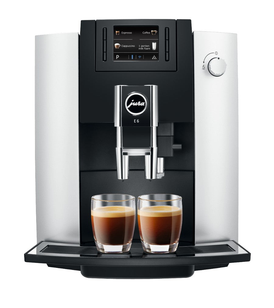 Jura E6 Platinum Espresso Machine