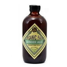 Organic Fair Ginger Ale Soda Syrup