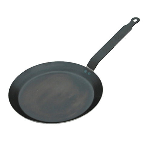 de Buyer Blue Steel Crepe Pan 9.75""