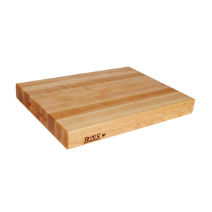 "John Boos 24"" x 18"" x 2.25"" Maple Cutting Board"