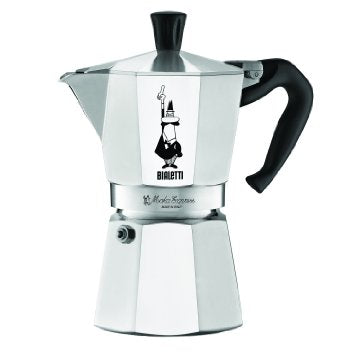 BialettiMoka ExpressStovetop Espresso - 6-Cup