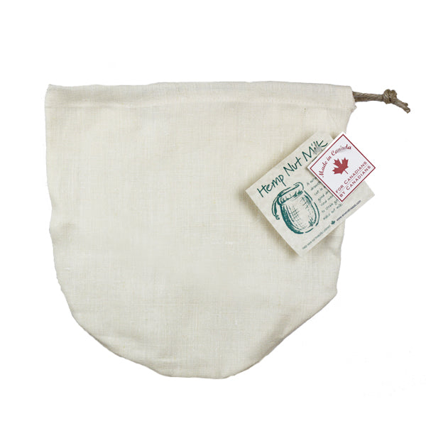 Enviro Threads Hemp Nut Milk Bag