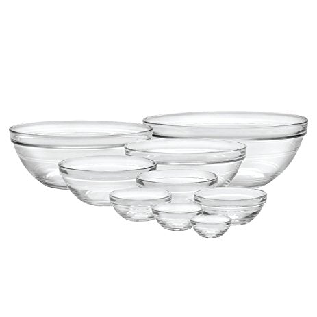 Stackable Glass Bowl Duralex 31cm