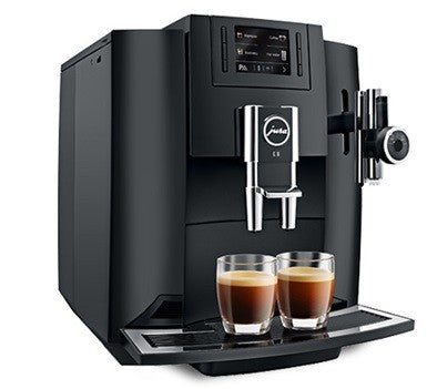 Jura E8 Piano Black Espresso Machine