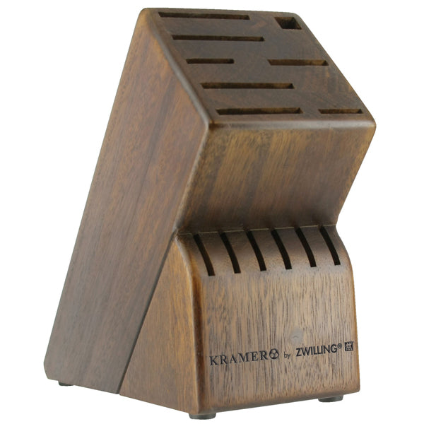 Bob Kramer 14-Slot Walnut Knife Block