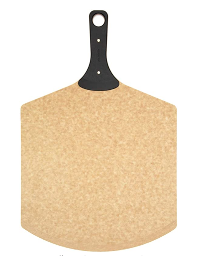 Epicurean Pizza Peel Natural 23x14'' Riveted (slate) handle