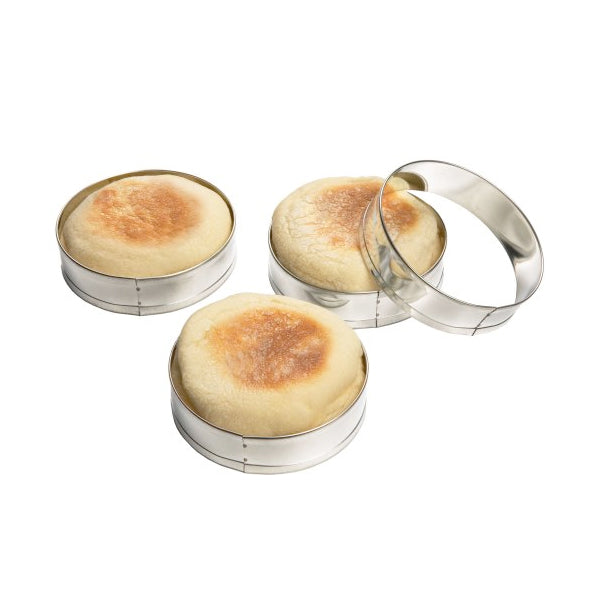 Fox Run English Muffin Ring - Set of 4