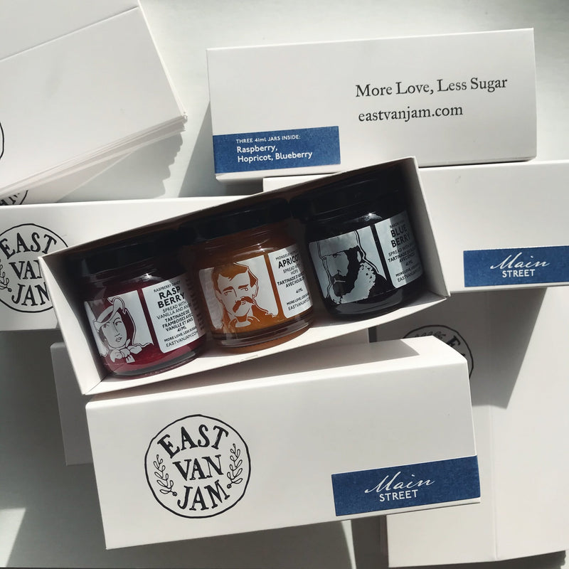 East Van Jam Gift Set