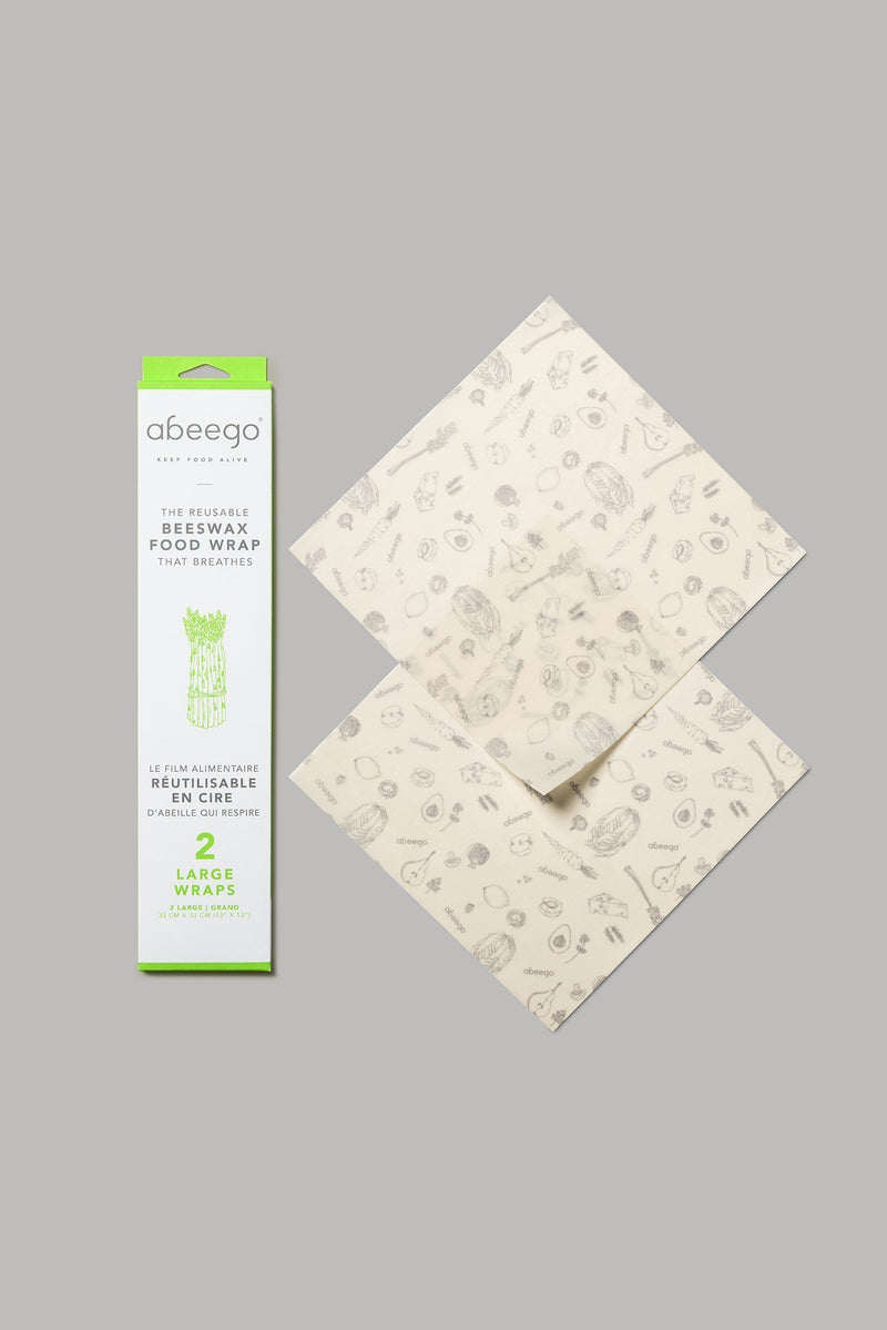 Abeego Beeswax Food Wraps