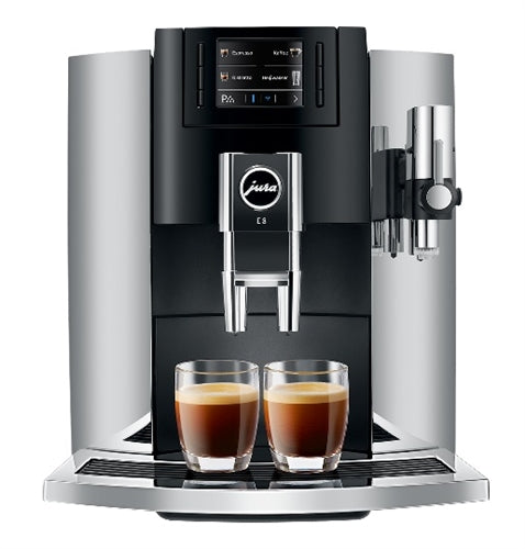 Jura E8 Chrome Espresso Machine
