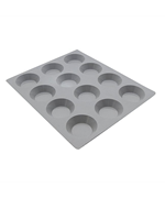Tartlets 12-Cavity Silicone Elastomoule de Buyer
