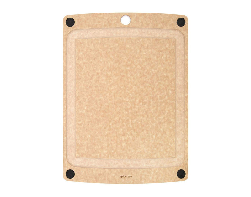 Epicurean All-in-one Boards 14.5x11.25'' Natural/Black Feet
