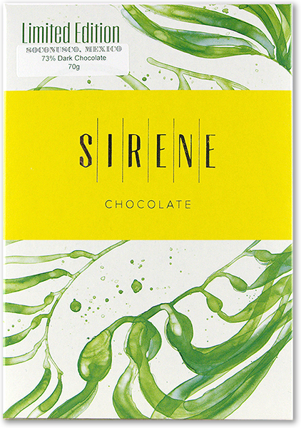Sirene Bean to Bar Chocolate Soconusco, Mexico 73% Limited Edition 70g