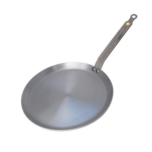 "de Buyer Mineral B Element 12"" Iron Crepe Pan"