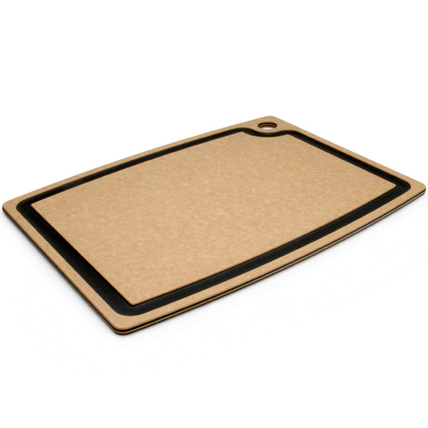 "Epicurean 18"" x 13"" Natural With Slate Groove Cutting Board"