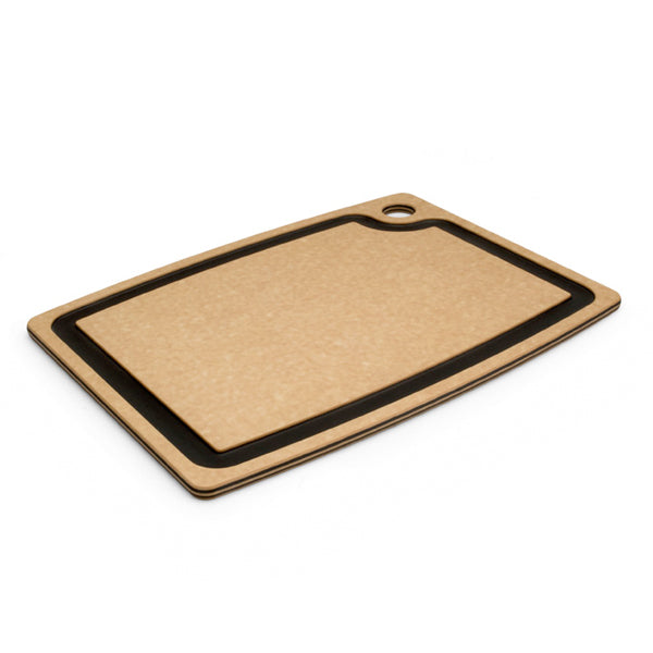 "Epicurean 15"" x 11"" Natural With Slate Groove Cutting Board"