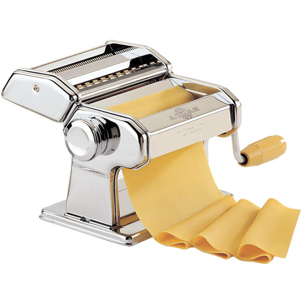 Marcato Atlas 150 Manual Pasta Machine - Stainless