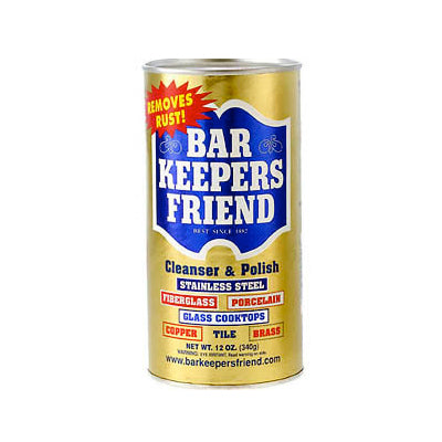 Bar Keepers Friend Stainless Cleanser - Powder