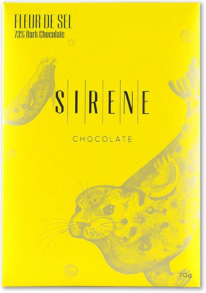 Sirene Bean to Bar Chocolate Fleur de Sel 60g