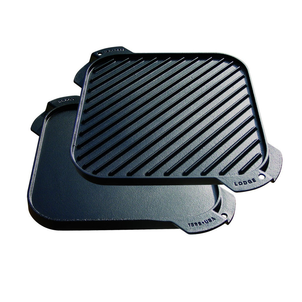 Lodge Cast Iron Reversible Grill/Griddle - 10.5""