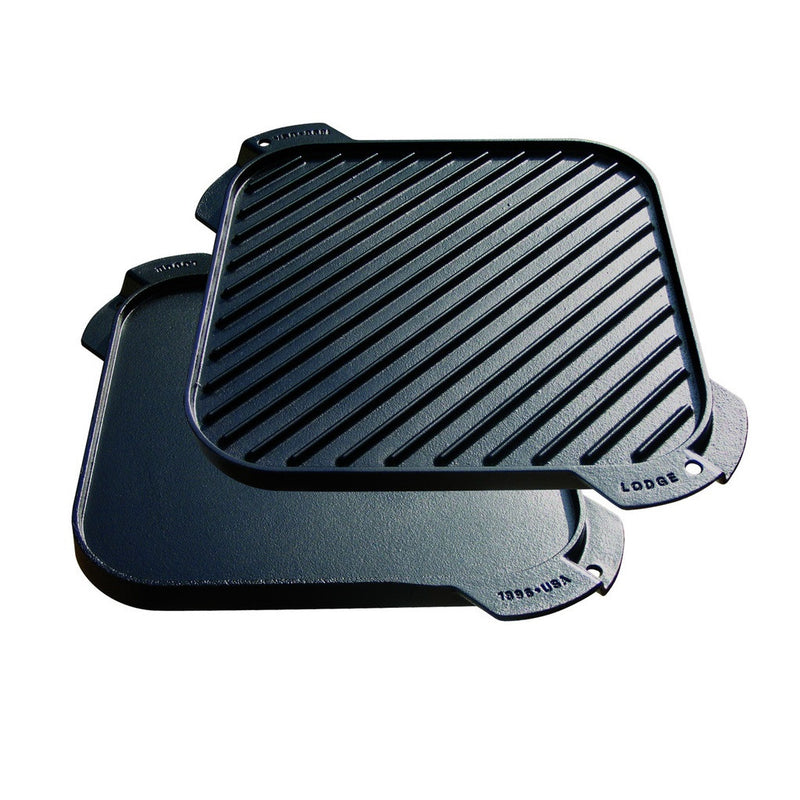 Lodge Reversible Grill/Griddle Square 10.5""