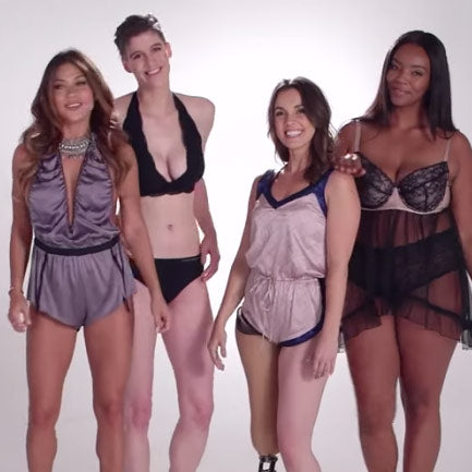 100 Years of Lingerie in 3 Minutes Video