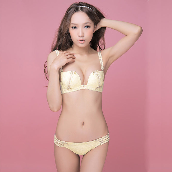 "Mass market lingerie in China exemplifies the Japanese ""kawaii"" aesthetic of cute and innocent"