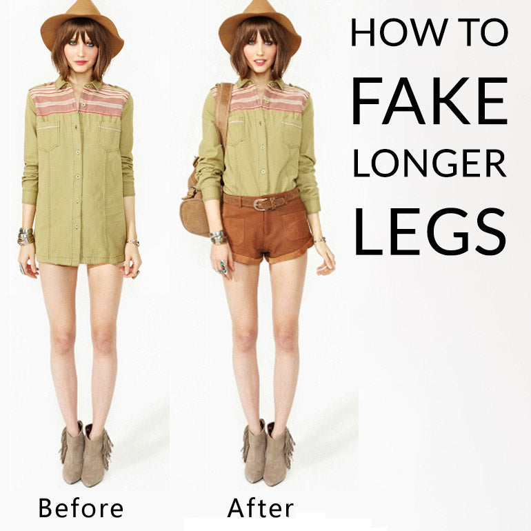 How to FAKE Long Legs - Follow these 5 Tips!