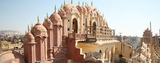 Jaipur, India - home to stunning rose colored palaces