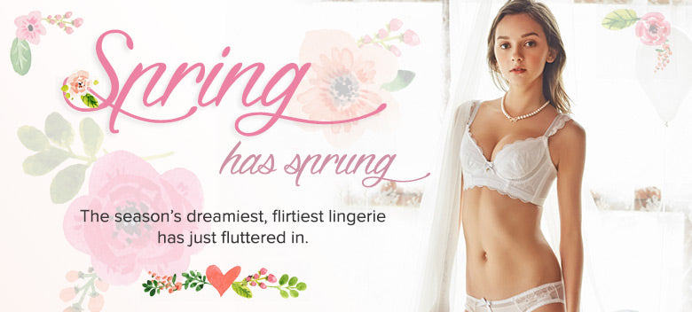 Spring 2016 lingerie sets from Petite Cherry