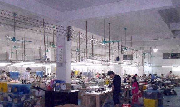 Lingerie factory on the inside from Foshan, China