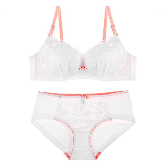 Fiona Demi Push-Up Bra and Panty Set